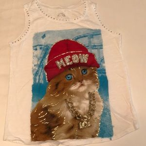 Kitty Cat Meow Justice Tank🐱